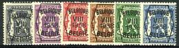 België PRE375/PRE380 ** - 1938 - Klein Staatswapen - Petit Sceau De L'état - Preo Reeks 8 - 6w. - Typografisch 1936-51 (Klein Staatswapen)