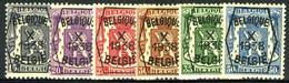 België PRE387/PRE392 ** - 1938 - Klein Staatswapen - Petit Sceau De L'état - Preo Reeks 10 - 6w. - Typografisch 1936-51 (Klein Staatswapen)