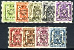 België PRE455/PRE463 ** - 1941 - Klein Staatswapen - Petit Sceau De L'état - Preo Reeks 20 - 9w. - Typografisch 1936-51 (Klein Staatswapen)