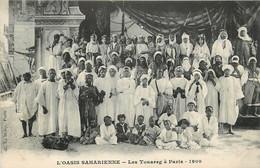 PARIS L'OASIS SAHARIENNE LES TOUAREG A PARIS 1909 - Exhibitions