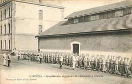 EPINAL L'APPEL QUATRIEME REGIMENT DE CHASSEUR A CHEVAL - Epinal