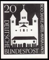 GERMANY (1956) Maria Laach Abbey. Photo Essay Of Unaccepted Design For 800th Anniversary. Scott No 747, Yvert No 114. - Sin Clasificación