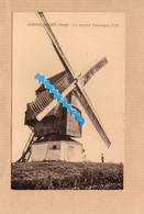 Dept 59 : ( Nord ) Hondschoote, Le Moulin Vercruyce, Animée. - Hondshoote