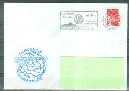 MARCOPHILIE - P.H.JEANNE D'ARC - AUMONERIE PROTESTANTE Nöel à FORT DE FRANCE 1999-2000 Flamme Du 24 - 12 - 99. - Poste Navale
