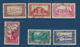 """Algerie YT 138 à 141A """" Sites Et Paysages """" 1938-41 Oblitéré - Oblitérés"""