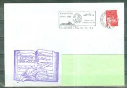 MARCOPHILIE - P.H.JEANNE D'ARC - AUMONERIE CATHOLIQUE Nöel à FORT DE FRANCE 1999-2000 Flamme Du 24 - 12 - 99. - Poste Navale