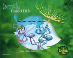 MWD-BK6-338-2 MDI MINT PF/MNH ¤ PALAU 1998 SHEET ¤ THE WORLD OF WALT DISNEY  FRIENDS OF WALT DISNEY - A BUG'S LIFE - Disney