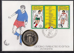 Soccer World Cup 1982 - Football - BULGARIA - Coin Letter - 1982 – Espagne
