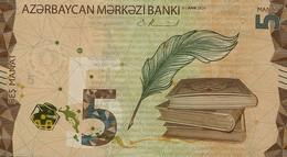 AZERBAIJAN P. NEW 5 M 2020 UNC - Azerbaïjan
