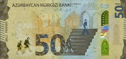 AZERBAIJAN P. NEW 50 M 2020 UNC - Azerbaïjan