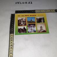 FB5808 MONTENARS 2002 TIMBRO TARGHETTA MONTE QUARNAN 1'' CENTENARIO COSTRUZIONE MONUMENTO REDENTORE - 2001-10: Marcophilia