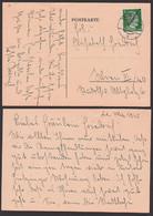 Wien,  5 Pfg. Hitler Aufdruck Östereich, 22. 5. 45 Als Ortskarte - 1945-60 Storia Postale