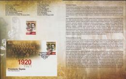 Poland 2020 Souvenir Booklet / Silesian Uprisings 1920, Andrzej Mielecki Activist Doctor / With Stamp MNH**FV - Schlesien (Ober- Und Nieder-)