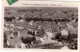 Vichy Vue Generale Prise De L'hopital Civil - Vichy
