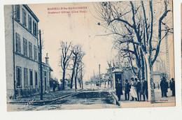 CPA 13 - MARSEILLE -Ste Marguerite Boulevard Gilibert Coté Sud///ANIMEE NON CIRCULEE - Quartiers Sud, Mazargues, Bonneveine, Pointe Rouge, Calanques