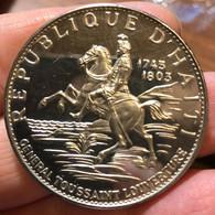 Haiti 1967 General Toussaint 10 Gourdes D.094 - Haiti