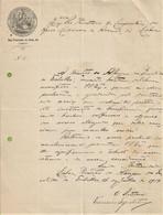 Lisboa - Companhia Da Mina Do Murcellão, 1877 - Título - Acção - Papéis De Valor Fiscais - Portugal - Portugal