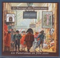 Bloc Numéroté 453 Tirage Limité La Passage Des Panoramas, Paris, Neuf Dentelé - Otros