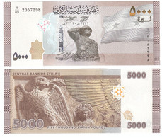 Syria - 5000 Pounds 2019 ( 2021 ) UNC Lemberg-Zp - Syrie