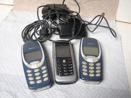 Lot. 1564. Lot De 3 Anciens GSM Nokia - Telephony