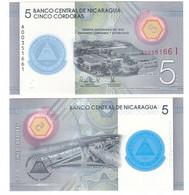 Nicaragua - 5 Cordobas 2020 UNC Comm. Polymer Lemberg-Zp - Nicaragua