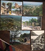 498 Cpm,19 Corrèze, Villes, Villages, Multivues, Thématiques :Barrages, Terre De Corrèze .... - Zonder Classificatie