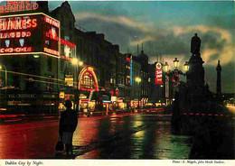 Irlande - Dublin - Vue De Nuit - Commerces - CPM - Voir Scans Recto-Verso - Dublin