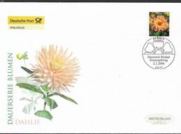 2006 Germany Deutschland  Mi. 2505 FDC   Blumen: Dahlie (Dahlia Variabilis Hort.) - FDC: Enveloppes