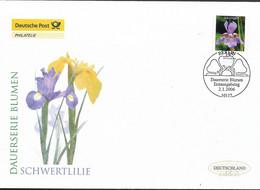 2006 Germany Deutschland  Mi. 2507 FDC   Blumen: Schwertlilie (Iris Xiphium) - FDC: Enveloppes