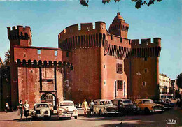 Automobiles - Petit Plan - Perpignan - Le Castillet - CPM - Voir Scans Recto-Verso - Voitures De Tourisme