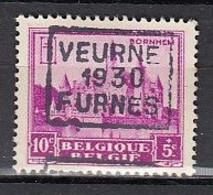 5996 Voorafstempeling Op Nr 308 - VEURNE 1930 FURNES - Positie C - Roulettes 1930-..