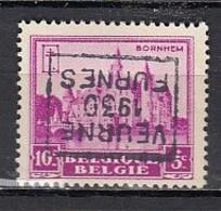 5996 Voorafstempeling Op Nr 308 - VEURNE 1930 FURNES - Positie D - Roulettes 1930-..