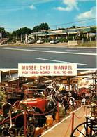Automobiles - Voitures De Tourisme - Poitiers - Musée Chez Manuel - Multivues - CPM - Carte Neuve - Voir Scans Recto-Ver - Passenger Cars