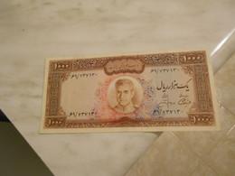 IRAN   - REZA  PHALAVI   -  1  000    RIALS  BILLET   -  RARE - Iran
