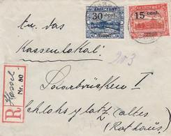 Deutsches Reich Saargebiet R Brief 1922 - Storia Postale