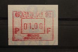 Belgien, FRAMA-ATM; Gandae 1991; MNH - Postage Labels
