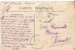 Hopital Temporaire 46 De LUCON Vendée - Guerra Del 1914-18