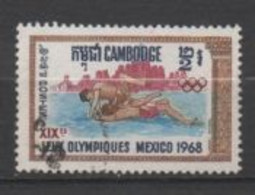 Cambodge N°209, Jeux Olympiques De Mexico. - Camboya