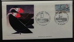 France 1982 / FDC Aéroport Bâle Mulhouse - 1980-1989