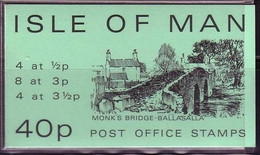 ISLE OF MAN MH VP 4 POSTFRISCH(MINT) MONK'S BRIDGE BALLASALLA - Isla De Man