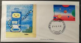 France 1982 / FDC La Poste Et Les Hommes, La Poste Et Les Techniques (2 Valeurs) - 1980-1989
