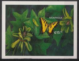 Nicaragua - 1998 - Bloc Feuillet BF N° Yv. 280 - Papillons / Butterflies - Neuf Luxe ** / MNH / Postfrisch - Papillons
