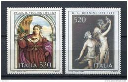 Italia 1980. Yvert 1468-69 ** MNH. - 1971-80:  Nuevos