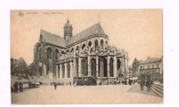 Eglise Saint-Pierre.TRamway. - Leuven