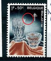 "N° 1164 V "" Eclat De Verre  ""   état: ** - Plaatfouten (Catalogus OCB)"