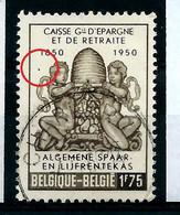 """N° 826 V 1 """" L' Abeille """"   état: Obl. - Plaatfouten (Catalogus OCB)"""