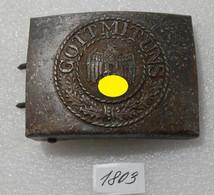 WW2 German Belt Buckle - Hi-quality Replica - 1939-45