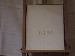 Laos 1954 - Boats