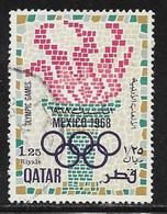 Qatar Scott # 144 Used Olympics, 1968 - Qatar