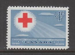 TIMBRE NEUF DU CANADA - 18E CONFERENCE DE LA CROIX-ROUGE INTERNATIONALE A TORONTO N° Y&T 252 - Cruz Roja